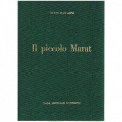 Mascagni, Pietro. IL Piccolo Marat (Voz/Piano)