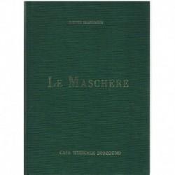 Mascagni, Pietro. Le Maschere (Voz/Piano)