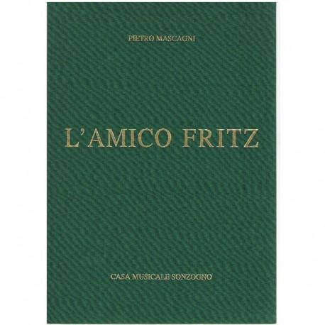 Mascagni, Pietro. L'Amico Fritz (Voz/Piano). Ricordi