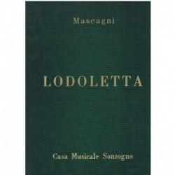 Mascagni, Pietro. Lodoletta (Voz/Piano)