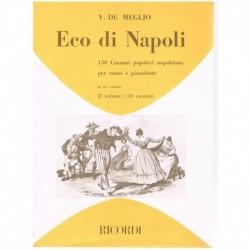 Varios. Eco Di Napoli Vol.2. 50 Canzoni (Voz/Piano)