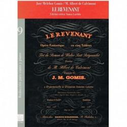 Melchor/Calv Le Revenant. Voz/Piano