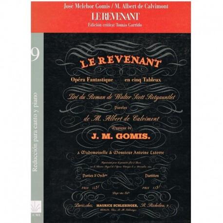 Melchor Gomis/De Calvimont. Le Revenant (Coro/Piano). ICCMU