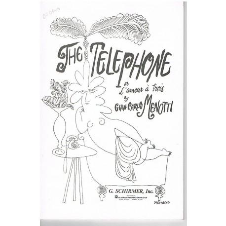 Menotti, Giancarlo. The Telephone (Voz/Piano). Schirmer