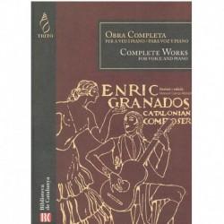 Granados, Enrique. Obra Completa (Voz/Piano)