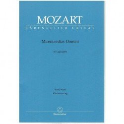 Mozart. Misericordias...