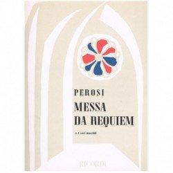 Perosi, Lorenzo. Misa de Requiem (2 Tenores/Bajo) (Voces/Piano)