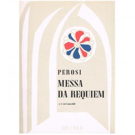 Perosi, Lorenzo. Misa de Requiem (2 Tenores/Bajo) (Voces/Piano). Ricordi
