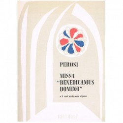 """Perosi Misa Benedicamus Domino (4 Voces Mixtas/Organo)"""""""""""