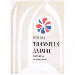 Perosi, Lorenzo. Transitus Animae. Oratorio (Voces/Piano)