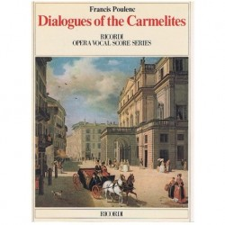 Poulenc, Fra Dialogues of The Carmelites. Voz/Piano