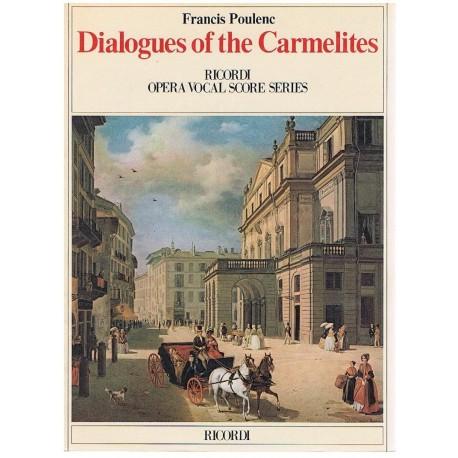 Poulenc, Fra Dialogues of The Carmelites. Voz/Piano