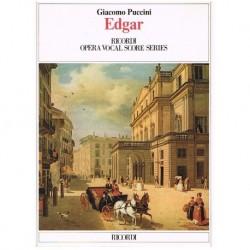 Puccini, Giacomo. Edgar (Voz/Piano)