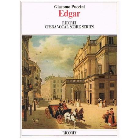 Puccini, Giacomo. Edgar (Voz/Piano). Ricordi