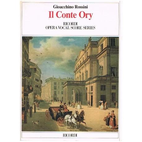 Rossini, Gioacchino. IL Conte Ory (Voz/Piano). Ricordi