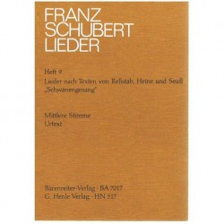 Schubert Lieders Vol.9. Voz Media