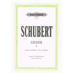 Schubert Lieders Vol.5