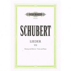 Schubert, Franz. Lieders...