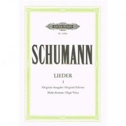 Schumann, Robert. Lieders...