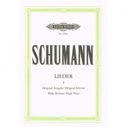 Schumann, Robert. Lieders Vol.1 (Voz Alta/Piano)