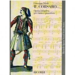 Verdi, Giuseppe. El Corsario (Voz/Piano)
