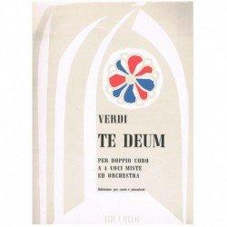 Verdi, Giuseppe. Te Deum (4...