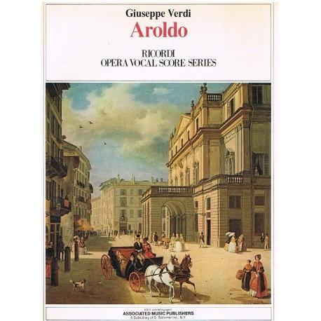 Verdi, Giuseppe. Aroldo (Voz/Piano). Ricordi