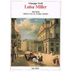 Verdi, Giuseppe. Luisa Miller (Voz/Piano)