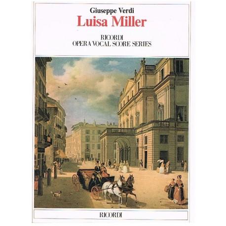 Verdi, Giuseppe. Luisa Miller (Voz/Piano). Ricordi