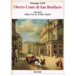 Verdi, Giuseppe. Oberto Conte di San Bonifacio (Voz/Piano)