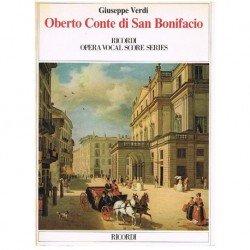 Verdi, Giuseppe. Oberto...