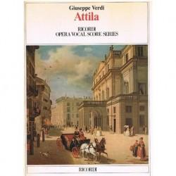 Verdi, Giuse Attila. Voz/Piano