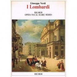 Verdi, Giuseppe. I Lombardi (Voz/Piano)