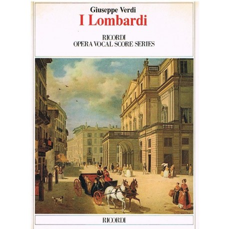 Verdi, Giuseppe. I Lombardi (Voz/Piano). Ricordi