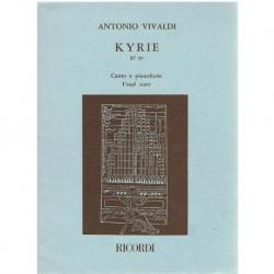 Vivaldi, Antonio. Kyrie RV 587 (Voz/Piano)