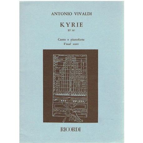 Vivaldi, Ant Kyrie RV.587. Voz/Piano
