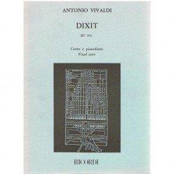Vivaldi, Antonio. Dixit RV...