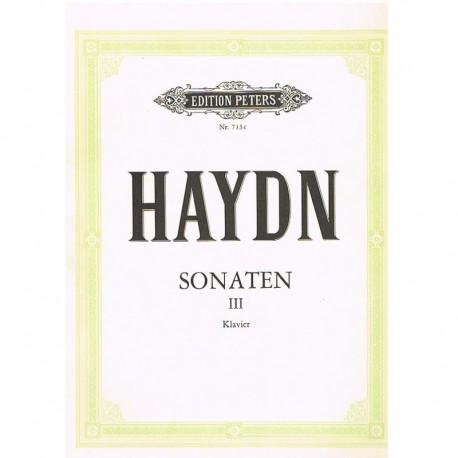 Haydn, Josep Sonatas para Piano Vol.3