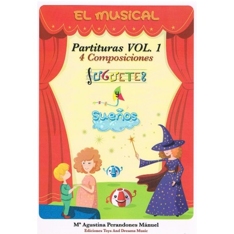 Perandones, Mª Agustina. El Musical. Partituras Vol.1 (Varios Instrumentos)