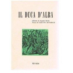 Donizetti, Gaetano. El Duque de Alba (Libreto)