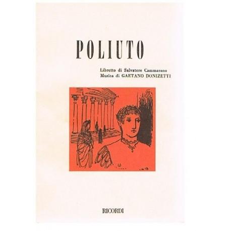 Donizetti, Gaetano. Poliuto (Libreto). Ricordi