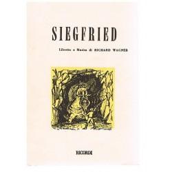 Wagner. Richard. Sigfrido (Libreto)
