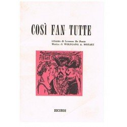 Mozart. Cosi Fan Tutte...