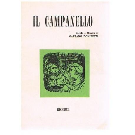 Donizetti, Gaetano. IL Campanello (Libreto). Ricordi
