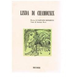 Donizetti, Gaetano. Linda di Chamounix (Libreto)