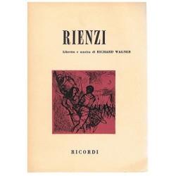 Wagner. Rich Rienzi (Libreto)
