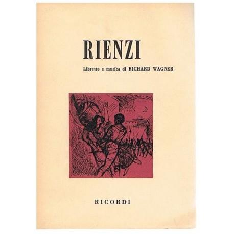 Wagner, Richard. Rienzi (Libreto). Ricordi