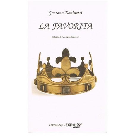 Donizetti, Gaetano. La Favorita (Libreto). Cátedra