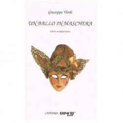 Verdi, Giuseppe. Un Ballo in Maschera (Libreto)