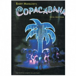 Manilow, Bar Copacabana. Vocal Selections (Piano/Voz/Guitarra)
